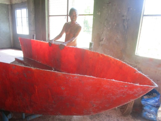 Construction of the new boat will soon start