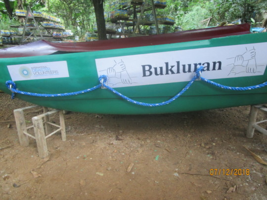Our latest rescue boat - The Bukluran