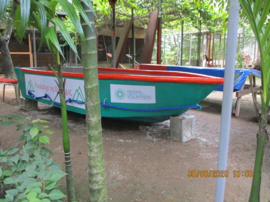 The new Punduhan ng Dumagat boat