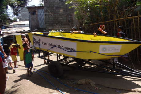 Build Rescue Boats in Flood Prone Communities