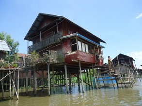 Typical Dwellings On the Lake