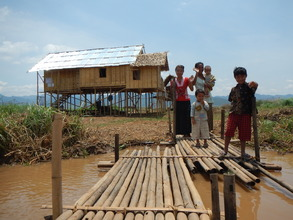 Inle families happy with results of donors aid