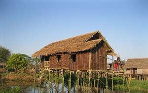 Lake Houses on Lake Inle