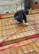 Bosana student building a home