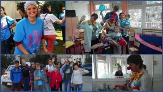 Bosana students volunteering