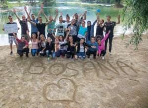 Bosana team building in Bihac