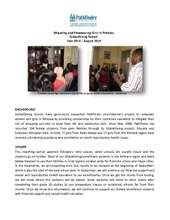 Educate and Empower Ethiopian Girls- Sept 2014 (PDF)