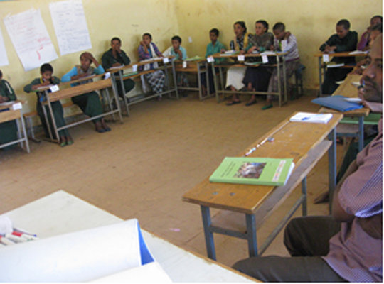 Training participants