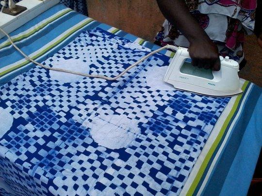 ironing of finish product