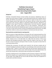 Pathfinder IGA Report Sept 2013 (PDF)