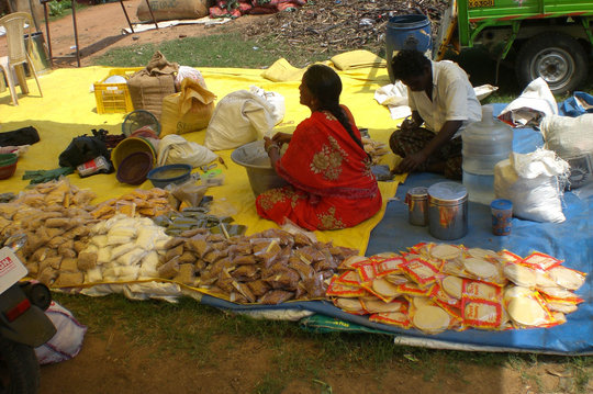 6 street masala(spice) vendor to earn income