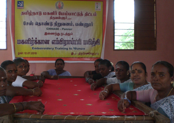6 Embroidery cots to tribal to earn income