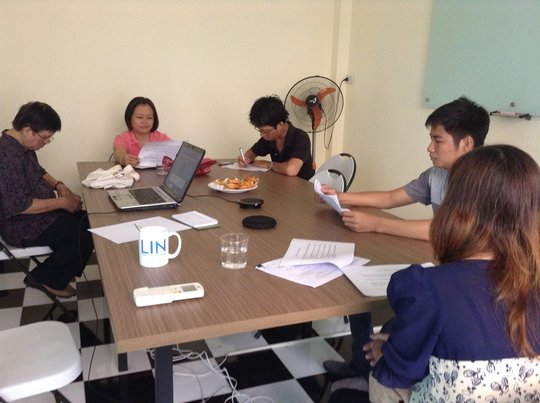 HCMC NPOs Join the PPWG Mtg via Skype