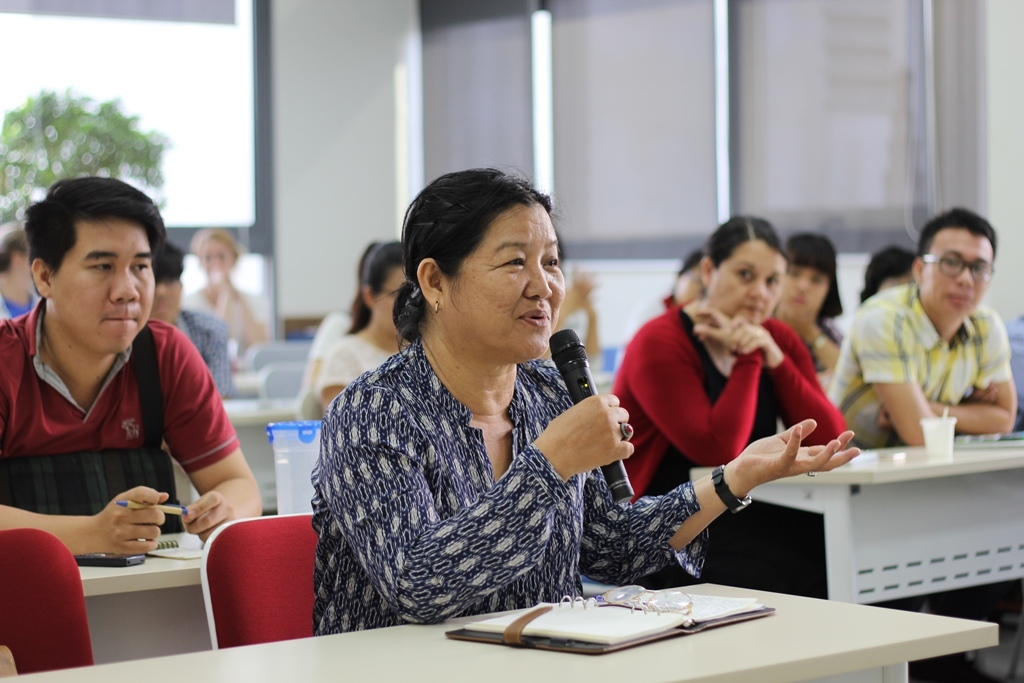 Q&A with Workshop Participants