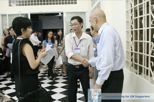 Housewarming Event for LIN Donors