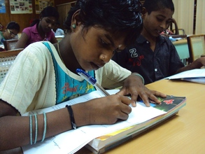 Student Learning at workshop