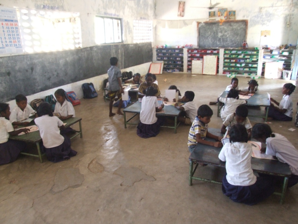Project class room with Para teacher