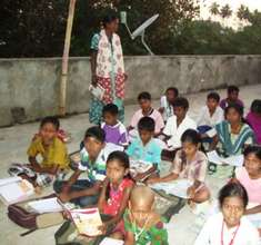 Children preparing for their exams