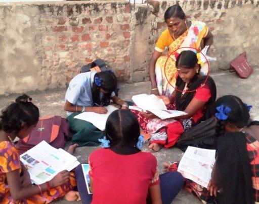 Geetha in the coaching class