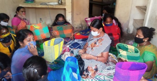 Skill Training to mothers of our children
