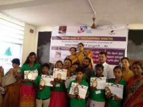 Participants of inter-school competition