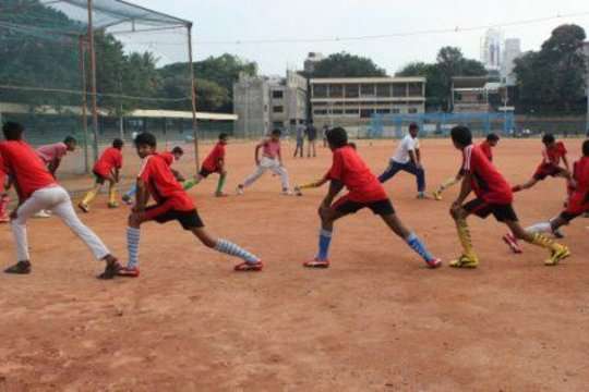 Young People at a Sports Session