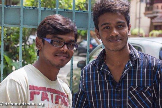 Dhanraj & Keerthi at the US Exchange Program