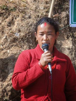 Mankumari Thami, successful farmer!