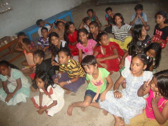 Teacher's salary & rent to educate gypsy children