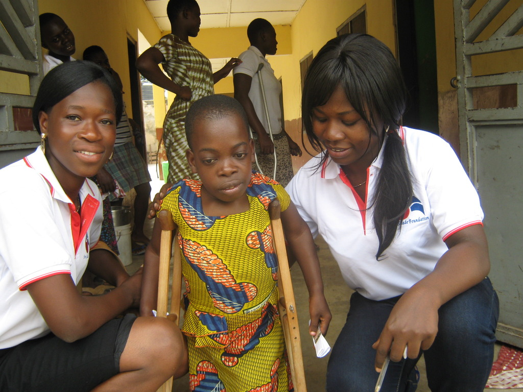 Staff of SSF and some Physically Challenged@PCAF