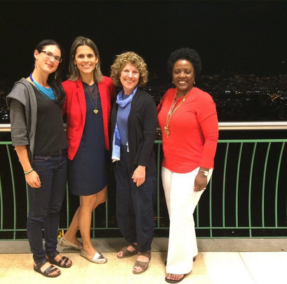 Our teachers came for Washington D.C. to Medellin