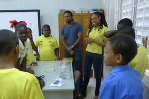 Sporting & Science for 50 students in Salybia, T&T