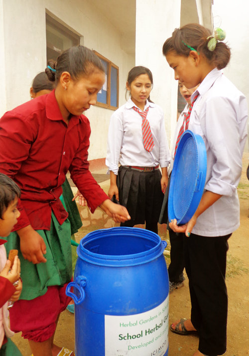 Gardening Kits distribution for students & schools