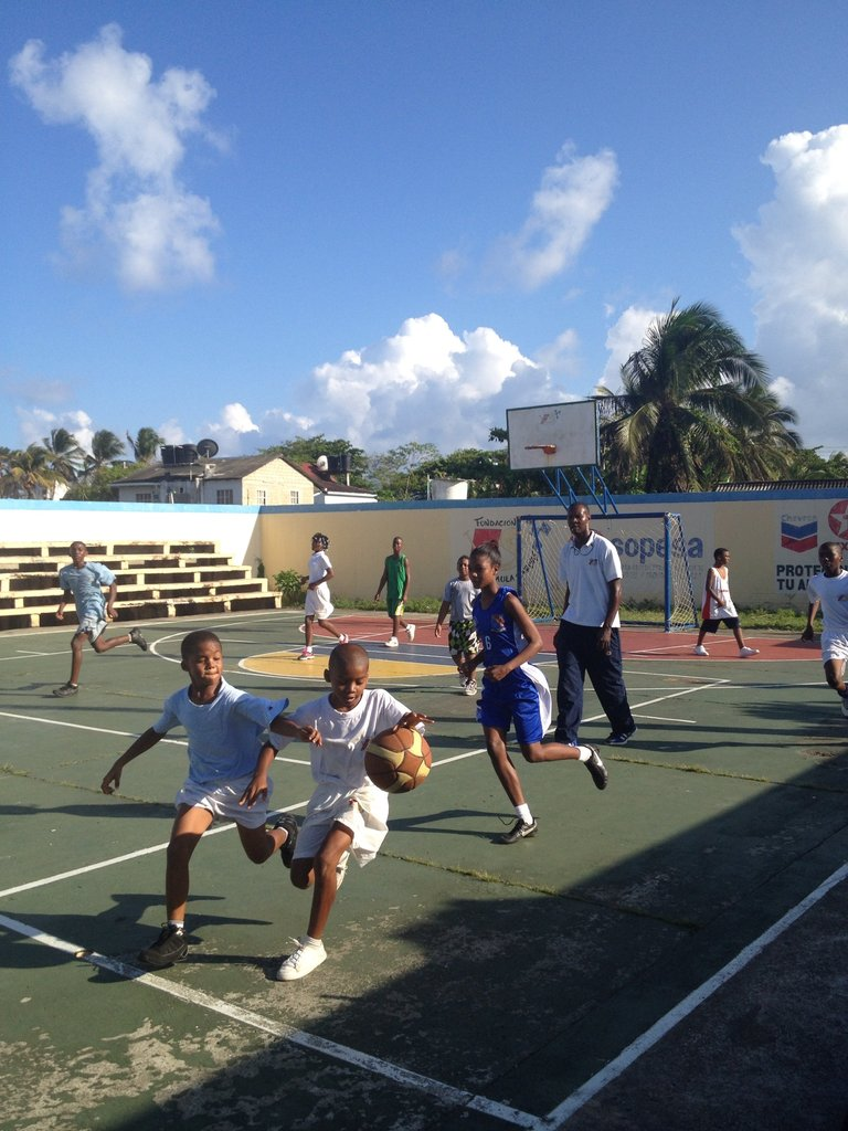 Training Basketball
