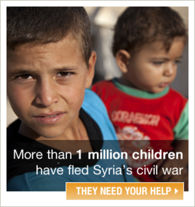 Your donations help Syrian children survive