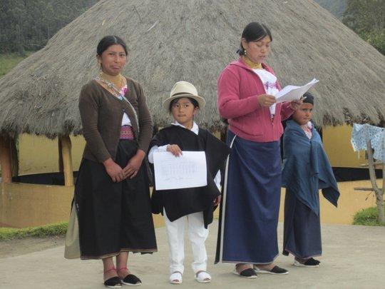 Children being rewarded for good grades