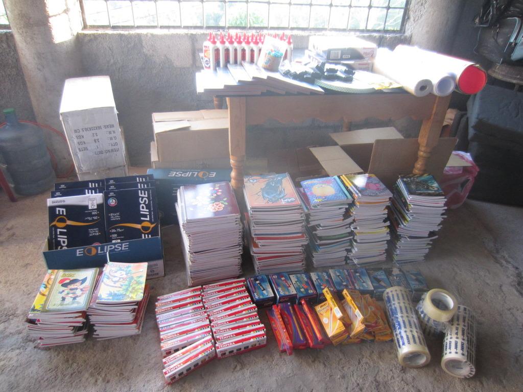 Materials in Honduras