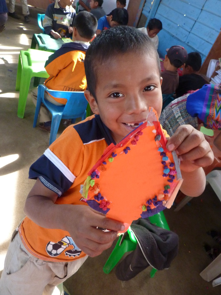 Education materials for children in Latin America