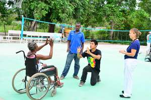 Sports Rehabilitation empowering elderly patients
