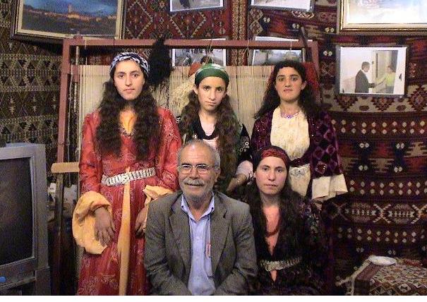 Kilim Rug Weavers and their Teacher