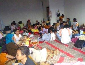 Massive Floods Displace Indonesian Families