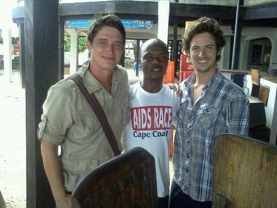 Peace Corps Volunteers on board!!!