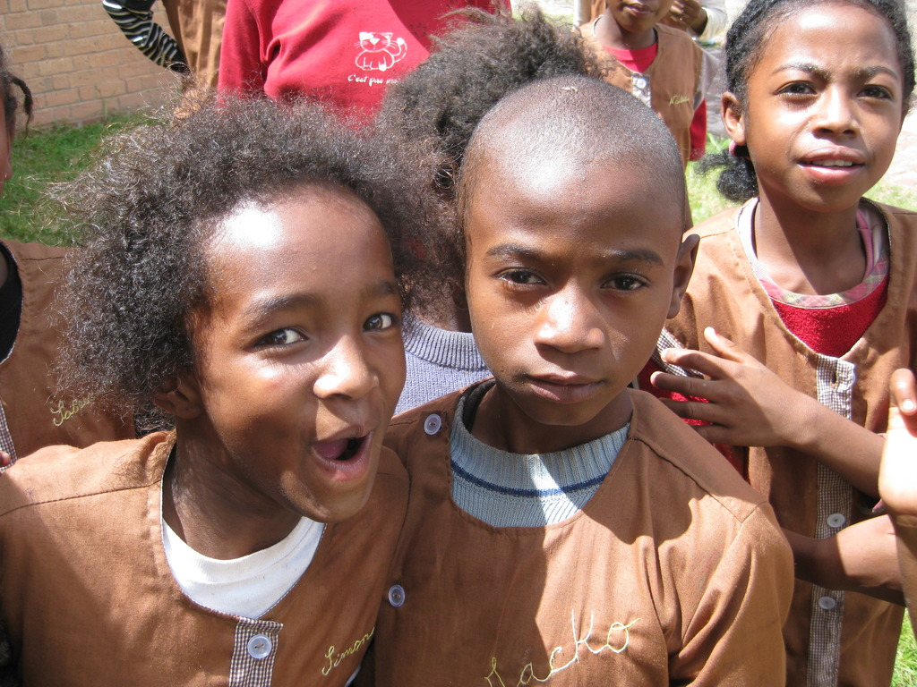 Some of the youngsters at Akany Tafita