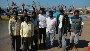 The team involved in the tagging and release