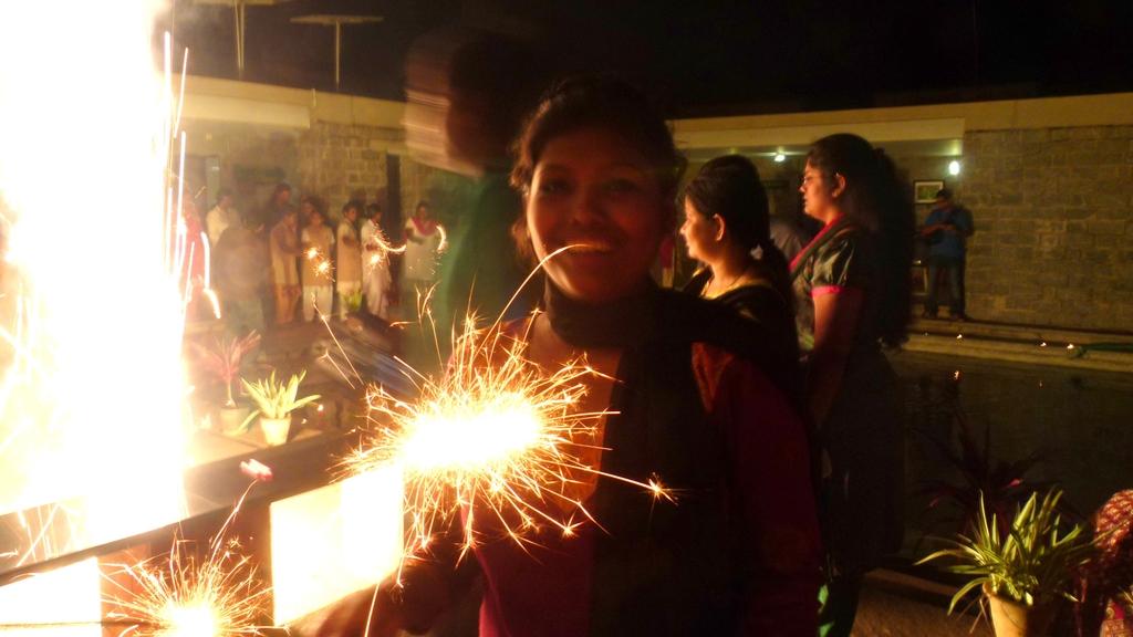 A sparkling Diwali