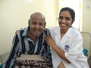 Patient with Sister