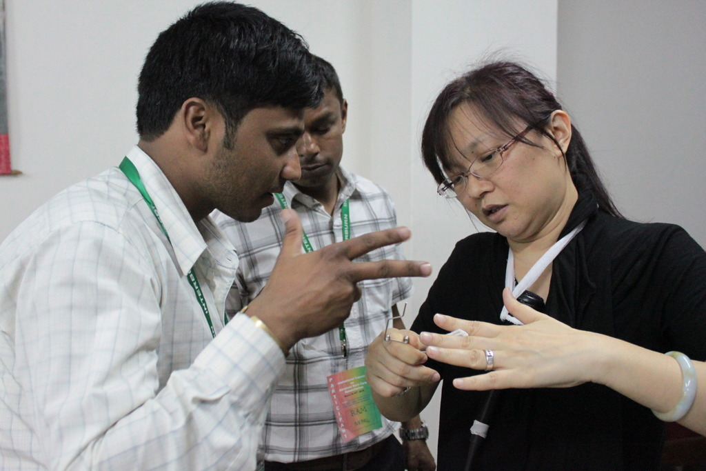 Feng-Yi explains how to make a mouth splint