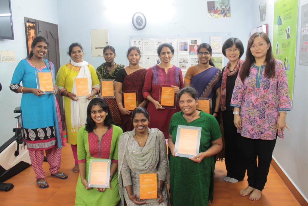 Award ceremony for PCVC staff