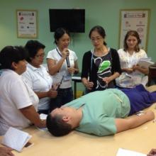 Translators make international trainings possible