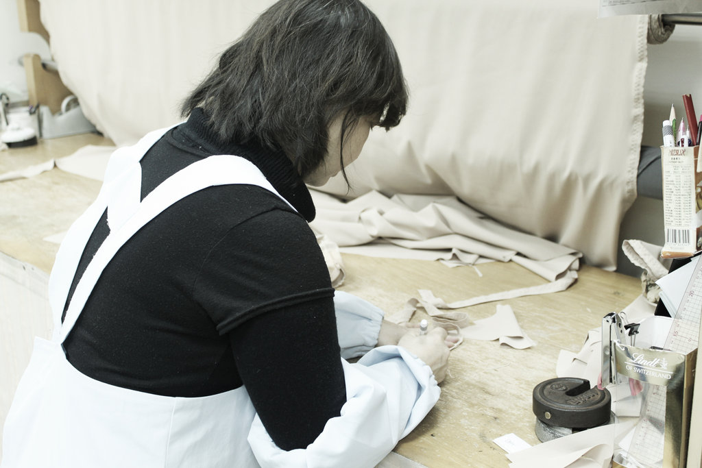 Sharing techniques for custom-made garments